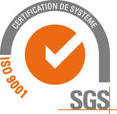 Parifex certified ISO 9001