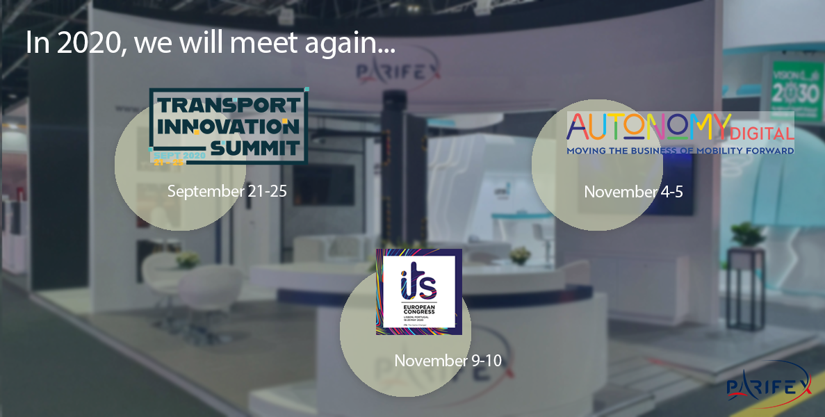 Meet us in the upcoming mobility shows