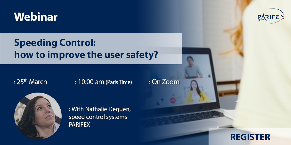 Webinar - Speeding Control : how to improve the user safety?